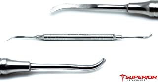 Dental Periosteal Freer Elevator Oral Surgical Implant Double Ended Hollow Handle Instruments