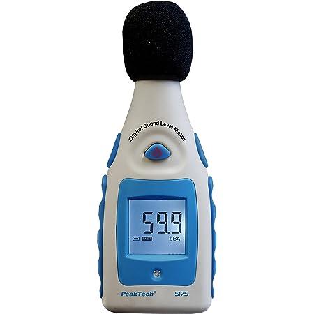 30-130dB Lärm Messgerät Profi Digital Schallpegelmesser DB TesterDruckmessgerät