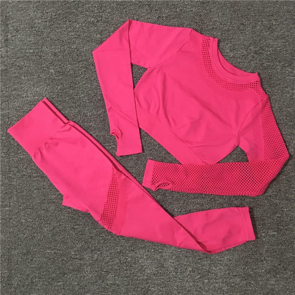 AAJIA Over item handling ☆ Sportswear Seamless Workout Recommendation Yoga Sets Gym Sport Sui Female