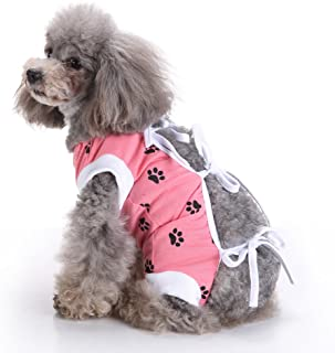 XBKPLO Pet Clothes Designed to Protect Abdominal Wounds Puppy T Shirt Dogs Clothes Surgery Rehabilitation Apparel