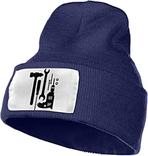 Craftsmans Tools Ski Cap Men & Women Knit Hats Stretchy & Soft Beanie
