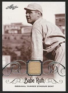 Babe Ruth 2016 Leaf #ys-35 Original Yankee Stadium Game Used Seat Trading Card - Baseball Game Used Cards