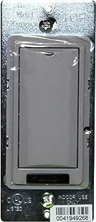 Watt Stopper LMSW-101-G Gray 1-Button Digital Wall Switch 24VDC 5mA Occupancy Sensor