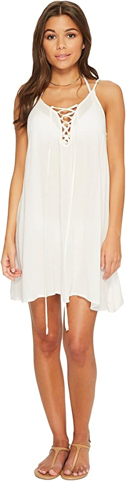 Softly Love Solid Dress Cover-Up
