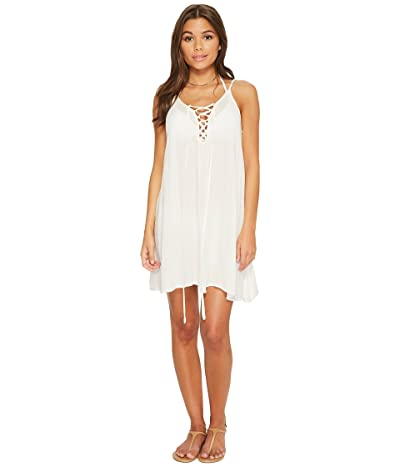 Roxy Softly Love Solid Dress Cover-Up (Marshmallow) Women