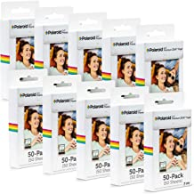 Polaroid 2x3 inch Premium ZINK Photo Paper (500 Sheets) - Compatible With Polaroid Snap, Z2300, SocialMatic Instant Cameras & Zip Instant Printer