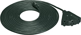 AmazonBasics 16/3 Outdoor Extension Cord with 3 Outlet, Green, 25 Foot