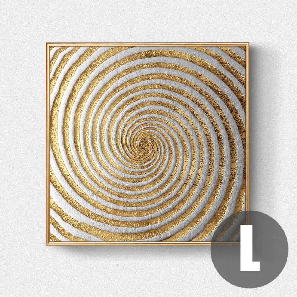 Abstrakte Gold Schwarz Wei/ß Moderne Quadratische Textur 4 st/ücke Leinwand Malerei Poster Und Drucke Wandkunst Bilder F/ür Wohnzimmer Wohnkultur Kein Rahmen 20 20cm*4