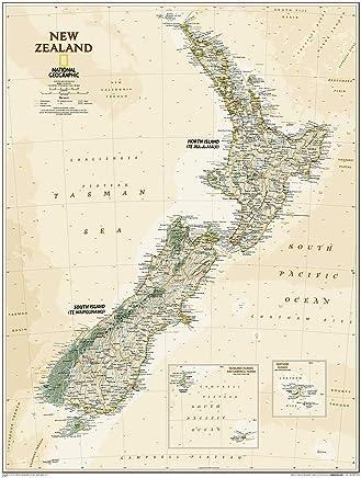 Neuseeland Nordinsel Karte.Suchergebnis Auf Amazon De Für Neuseeland Karte