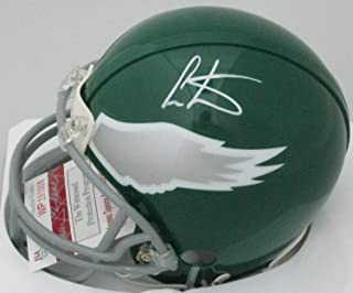 Eagles Chris Carter Autographed Signed Riddell Mini Helmet Auto - Hof 2013-8 X Pb - JSA