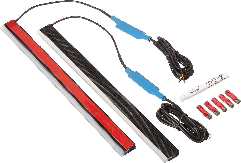 Blue Hose /& Stainless Gold Banjos Pro Braking PBK7748-BLU-GOL Front//Rear Braided Brake Line
