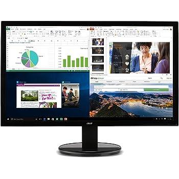 "Acer K202HQL Abi 19.5"" HD Monitor (HDMI & VGA port), Black, 19.5 Inch"