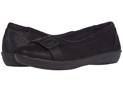 Clarks Ayla Grace (Black Synthetic) Women