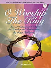 BF9 - O Worship the King: Violin (Book & CD)