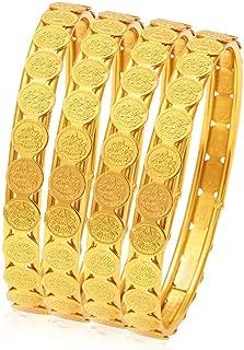 Sukkhi Jewellery Bangle for Women (Golden) (32083BGLDPP400_2.8)