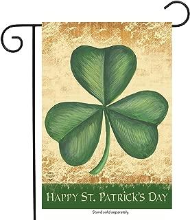 Briarwood Lane Happy St. Patrick's Day Shamrock Garden Flag Irish Holiday 12.5