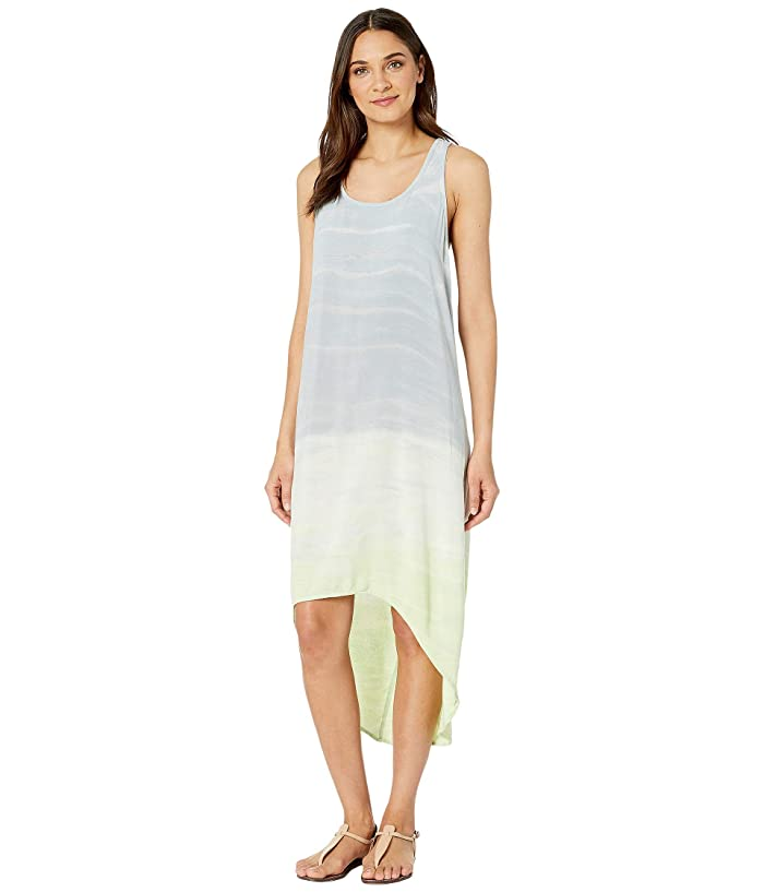 Hard Tail Hi-Low Tank Dress (Rainbow Horizon 86) Women's Dress