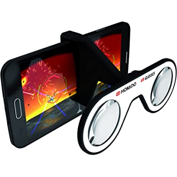 【純正品】 フランス生れ 折りたたみ VR ゴーグル Plano-Convex 専用レンズ Cardboard 認定 BIMxモバイル対応 超軽量 41g Vtuberに HOMiDO Mini