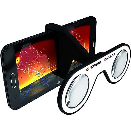 【純正品】 フランス生れ 折りたたみ VR ゴーグル Plano-Convex 専用レンズ Cardboard 認定 モバイル対応 超軽量 41g Vtuberに HOMiDO Mini