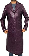BNH The Joker Suicide Squad Jared Leto Purple Coat - Halloween Costume