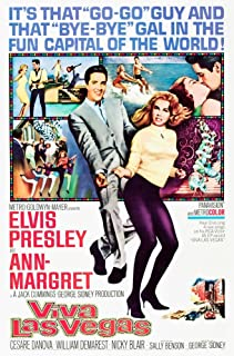 Posterazzi Viva Las Vegas Center Left to Right: Elvis Presley Ann-Margret 1964. Movie Masterprint Poster Print (24 x 36)