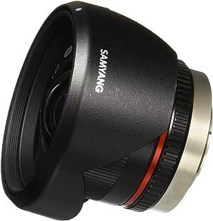 Samyang SY12M-MFT-BK 12mm F2.0 Ultra Wide Angle Fixed Lens for Olympus/Panasonic Micro 4/3 Cameras, Black