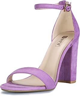 0865fc74fb6 Amazon.com: Purple - Heeled Sandals / Sandals: Clothing, Shoes & Jewelry