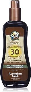 Australian Gold Protección Solar con Bronceador Marron Cocoa Dreams Fragrance 237 Mililitros