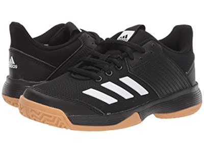 adidas Kids Ligra 6 (Little Kid/Big Kid) (Black/Gum) Kids Shoes