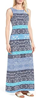 Women's Mayan Maze Maxi Dress