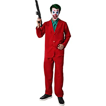XYFW Traje De Joker 2019 Película Cosplay Traje Traje Camisa ...