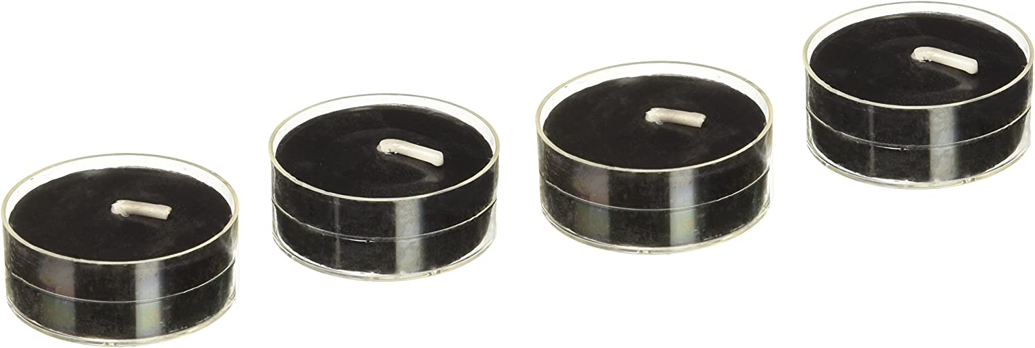 Zest Save money Candle 50-Piece Candles Tealight New mail order Black