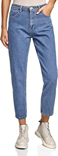 Ultra Women's Mom-Fit High Rise Jeans