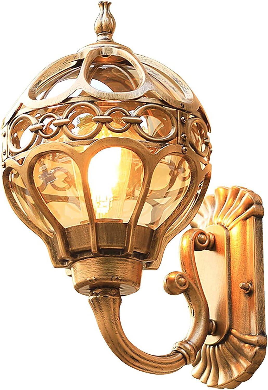 DANWJDP Ranking TOP10 Led Vintage Wall Lanterns Porch Outdoor Light Mesa Mall W Fixture