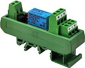 Electronics-Salon AC/DC 12V Slim DIN Rail Mount DPDT Signal Relay Interface Module, RY12W-K.