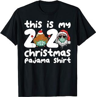 Esta es mi camisa de pijama navideña Family 2020 Funny Xmas Camiseta