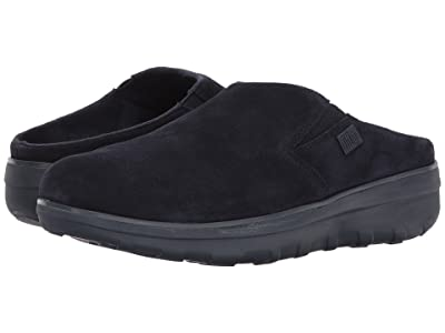 FitFlop Loaff Suede Clogs (Supernavy Suede) Women