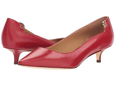 Tory Dark Shell Pink Pump BlackSea Burch 40mm RedstoneIvoryPerfect Elizabeth qnqfg1