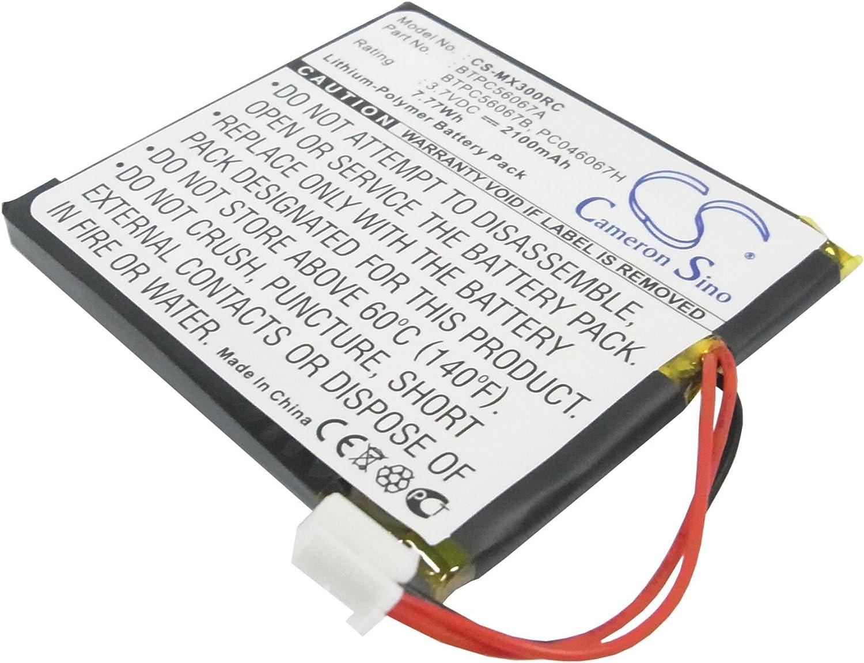 Super Special SALE held Replacement Battery for MX-3000 - built af Version Popular remotes 3