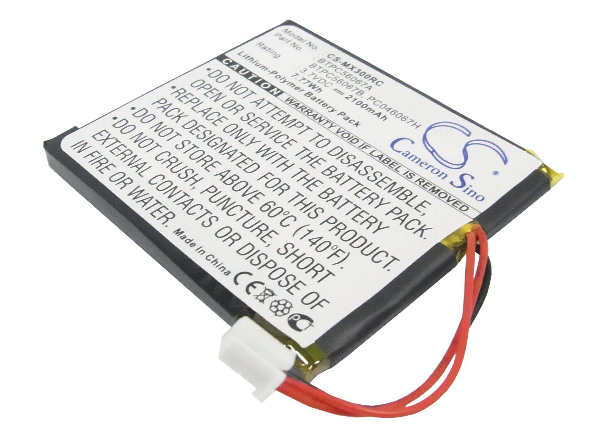 Bateria Para Universal MX-3000 MX-3000i Remote Control