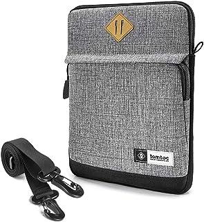tomtoc Schoudertas voor 12,9 inch nieuwe iPad Pro 2020/2018, Tablet Sleeve Case draagtas met handvat en schouder schouder ...