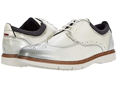 Stacy Adams Synergy Wing Tip Oxford (Ice) Men