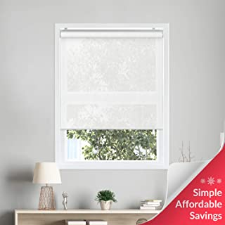 Chicology Cordless Roller Shades Snap-N'-Glide Filtering Perfect for Living Room/Bedroom/Nursery/Office and More, 39