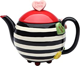 valentine's day teapot