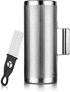 Metal Guiro Stainless Steel with Scraper Latin Percussion Instrument 12