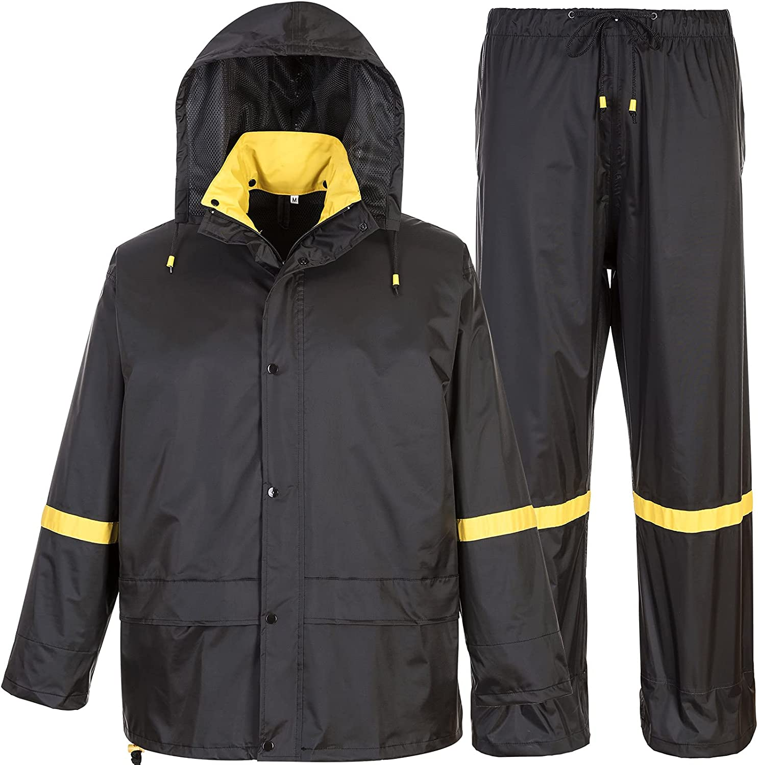 Quantity limited Classic Rain Suits for Men Gear w Waterproof Direct stock discount Breathable