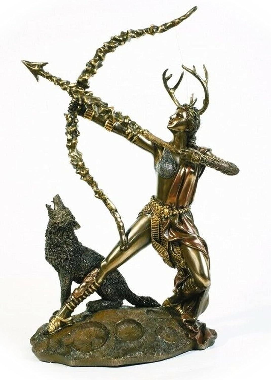 New Greek Goddess Diana The Huntress Artemis Max 87% OFF D Statue Roman Home Milwaukee Mall