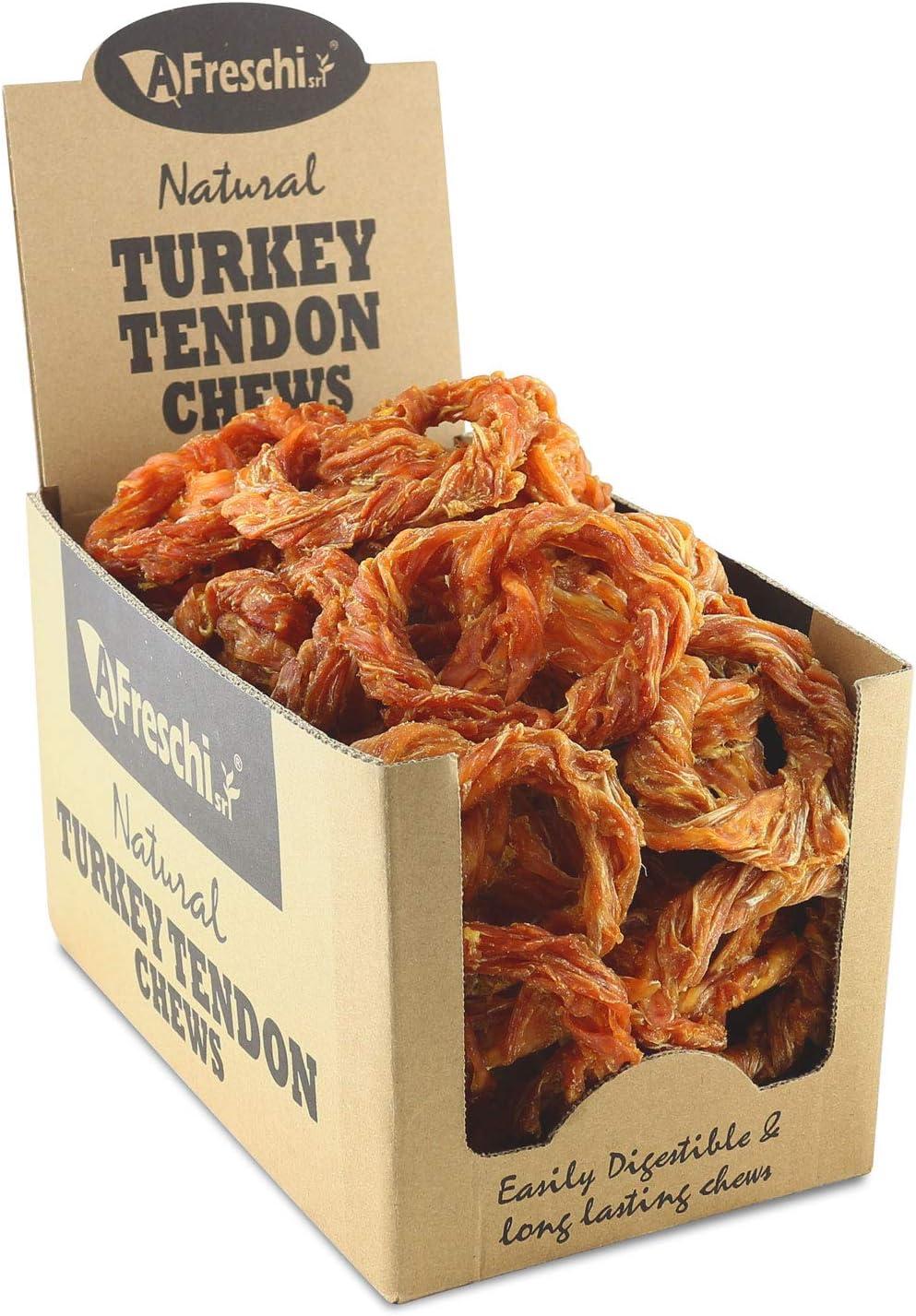 depot Omaha Mall AFreschi Turkey Tendon for Hypoallerg Dogs All-Natural Premium