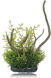HITOP 人工水草 水槽用芸術的プラスチック植物 木の様子の独特的な水槽裝飾プラント (枝の形)