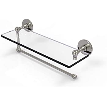 Allied Brass PMC-33//24-PEW Prestige Monte Carlo Collection 24 Inch Glass Shelf Antique Pewter